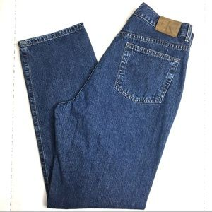 Vintage Calvin Klein High Rise Jeans Wedgie Fit